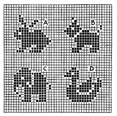 Knitting Pattern On Graph : FREE CROCHET OR KNIT WITH CHARTS OR GRAPHS PATTERNS ...