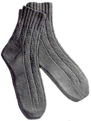 Novelty Rib Vintage Socks Dances with Wools