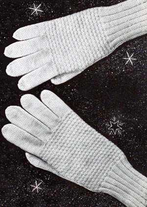 Knitting Pattern Central - Free Pattern - Whitehall Gloves