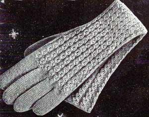 Knitting Pattern Long Gloves : Womens Long Gloves Pattern Knitting Patterns