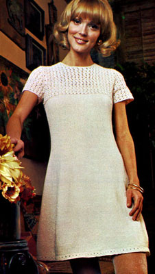 Free Knitting Pattern Ladies Dress : Martinique Dress Knitting Patterns