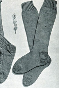 China Knitting Pattern Knee High Socks, China Knitting Pattern