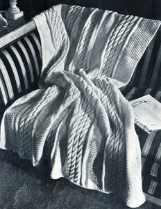 Knit Cable Pillow Patterns