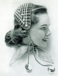 Knitting Pattern Vintage Hat : Jibber Knitting Patterns