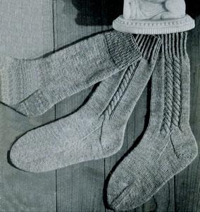 Four Needle Socks | Knitting Patterns