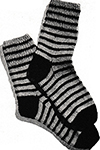 Striped Socks Pattern