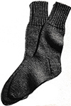 Men's Classic Socks Pattern