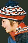 crochet beret and scarf pattern