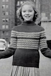 pullover sweater pattern