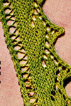 knitted edging pattern