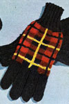 wallace tartan gloves pattern