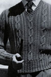 cable stitch neck pullover pattern