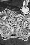 Star of India Doily pattern
