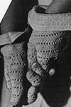 Crocheted Sport Glove pattern