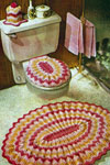 ripple bathroom set pattern