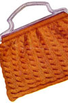 orange knitting bag pattern